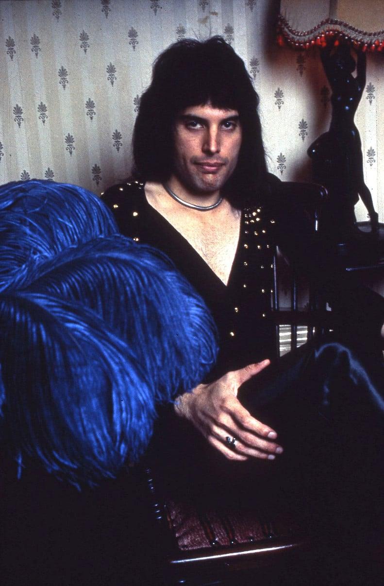 005849 - Freddie Mercury of Queen in 1973
