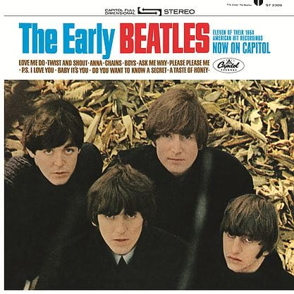 The Early Beatles Packshot