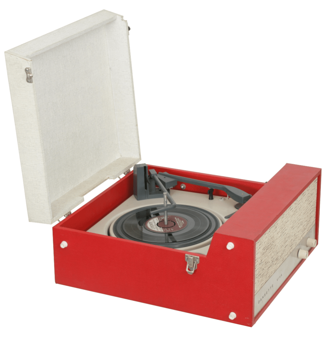 Dansette Record Player - guide