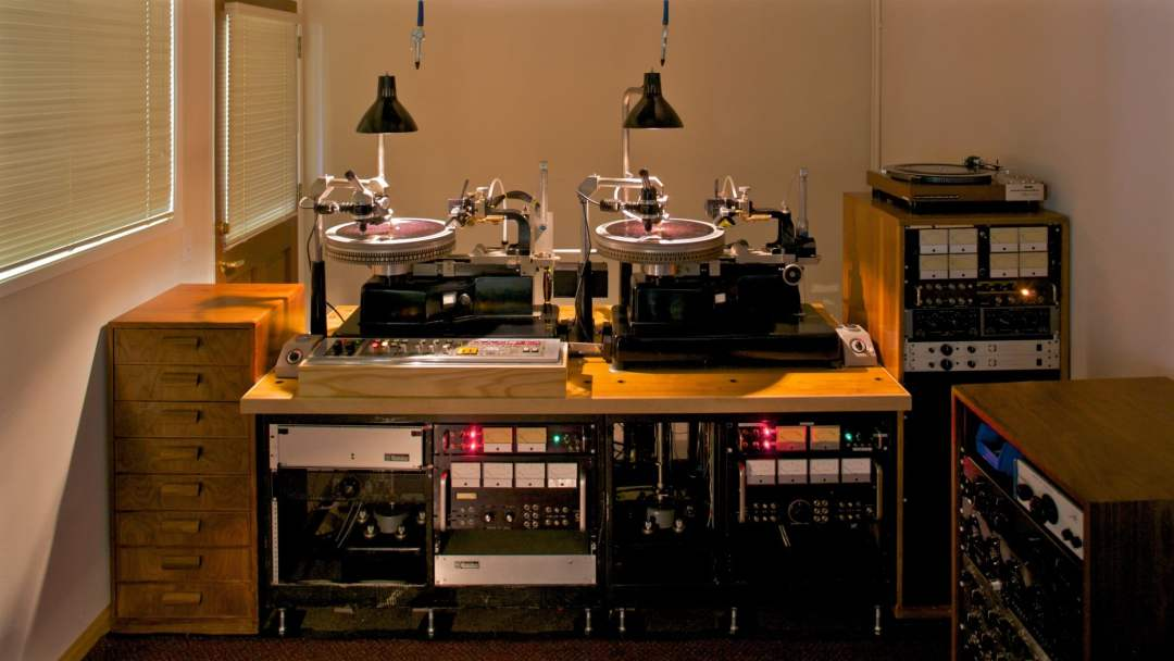 The Mastering Lab • Neumann Lathes with Neumann cutting heads, all electronics designed and built by the Mastering Lab.