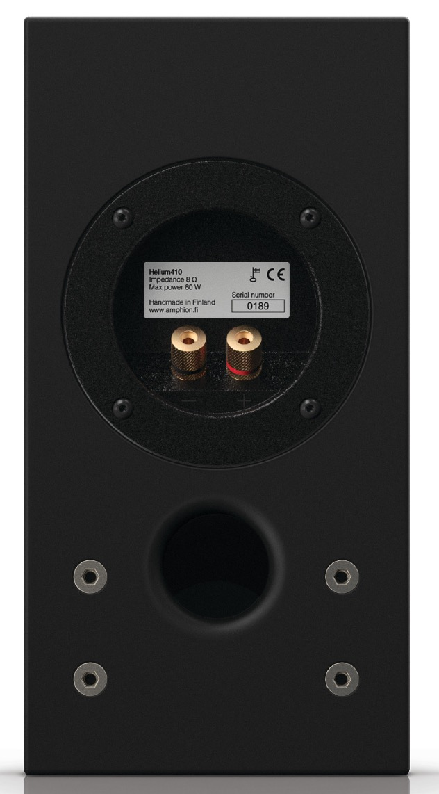 Helium & Argon Speakers, Tweaked from Amphion
