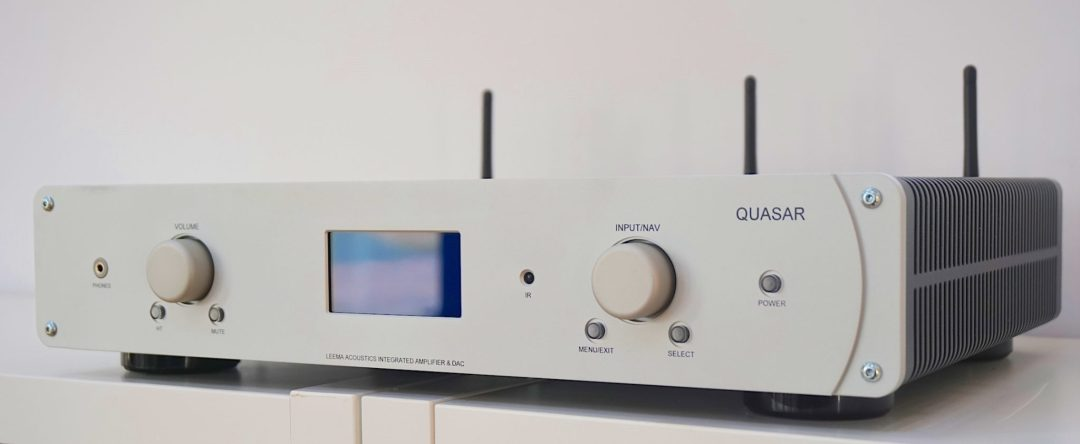 Quasar, an all-in-one hi-fi system from Leema