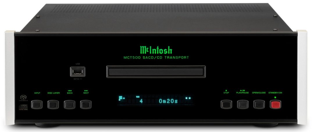 MCT500 SACD/CD transport From McIntosh