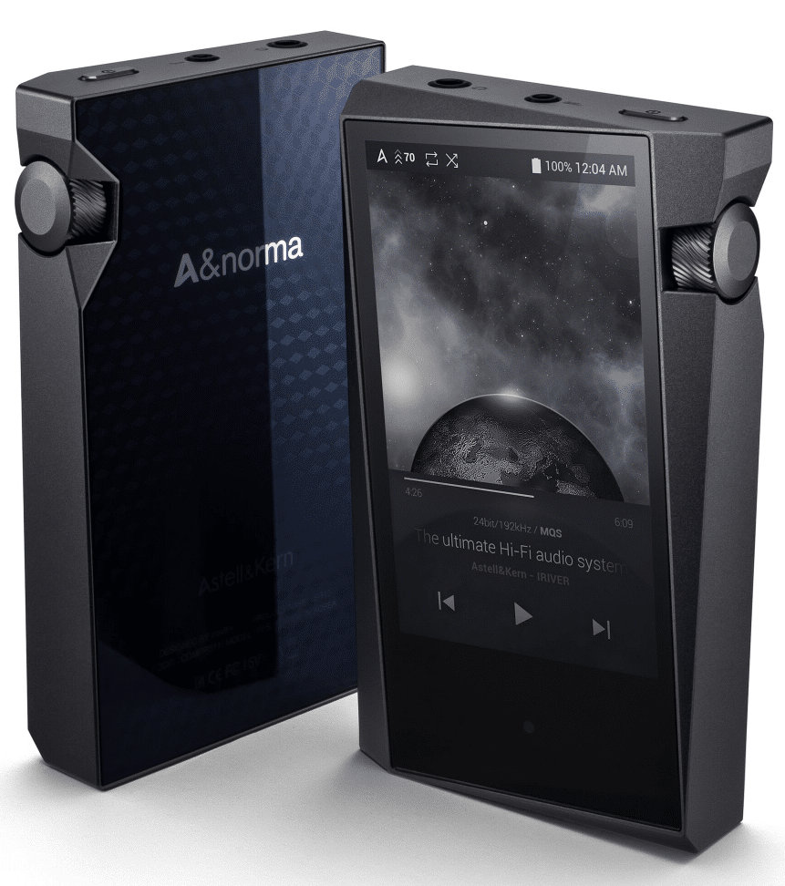 A&norma standard and A&futura premium players from Astell&Kern