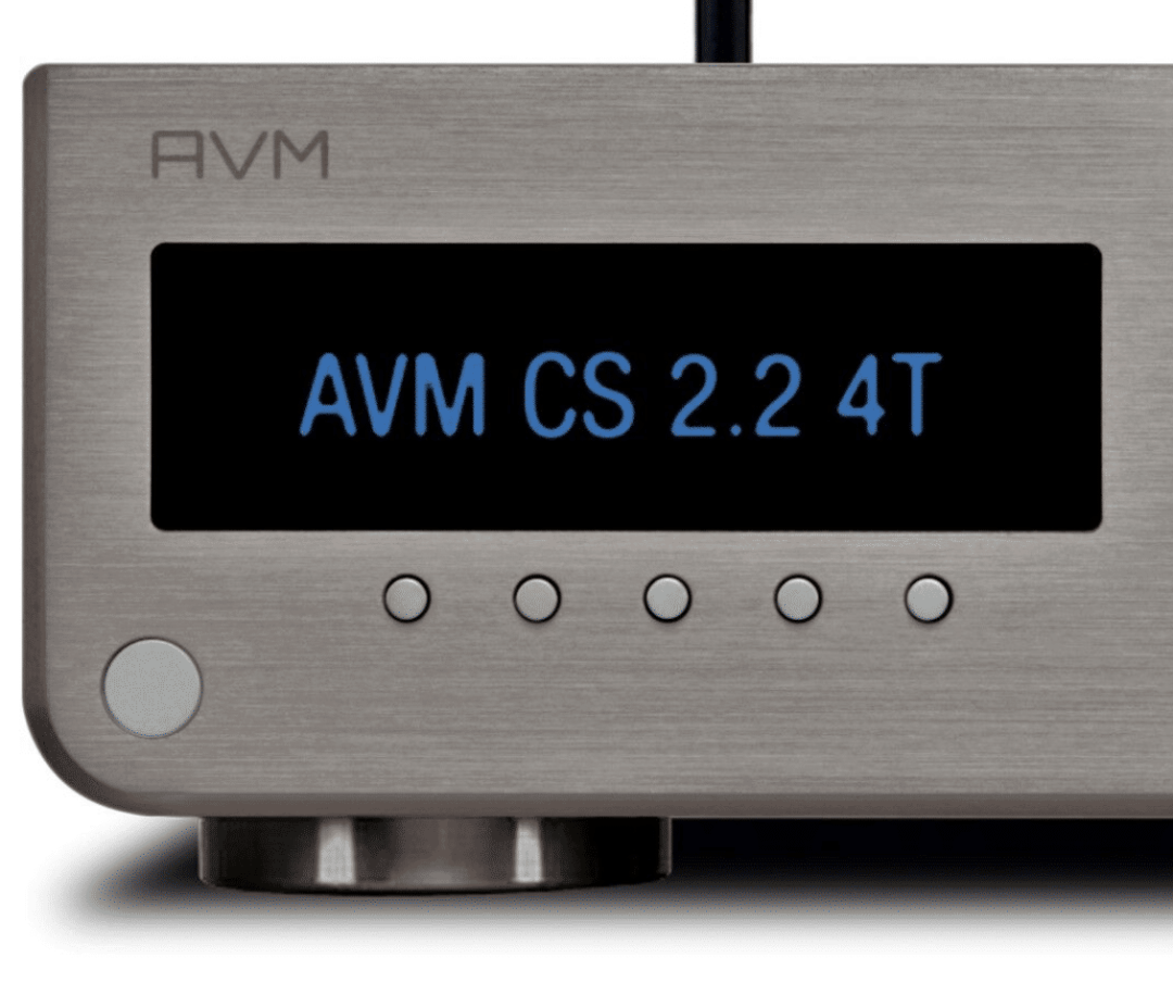 CS 2.2 4T Streaming CD Receiver From AVM