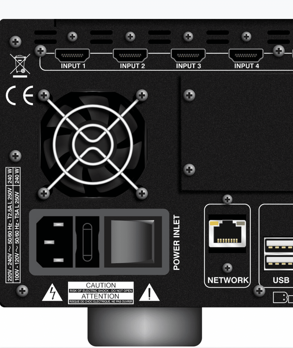 SP4 Surround Processor From Bryston