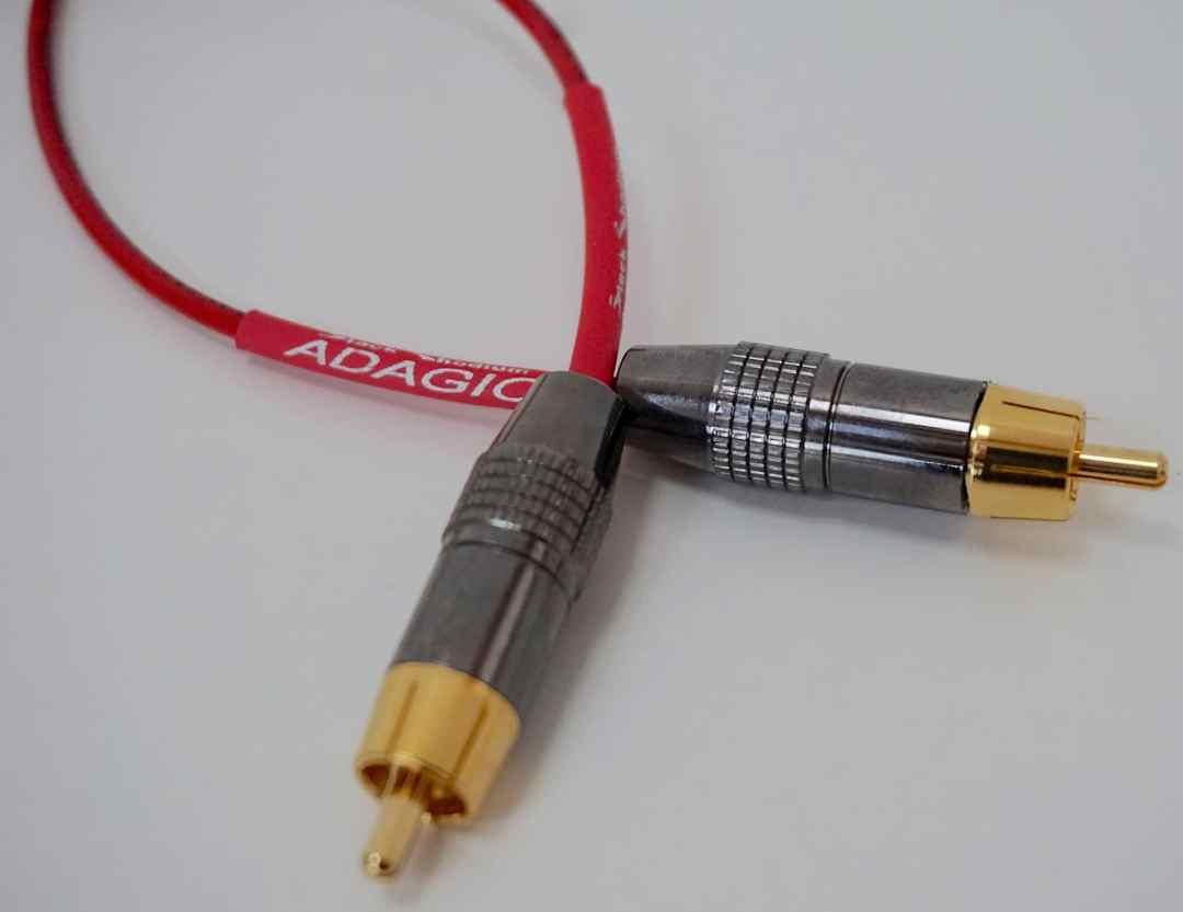 Adagio & Largo: Black Rhodium Digital Cables