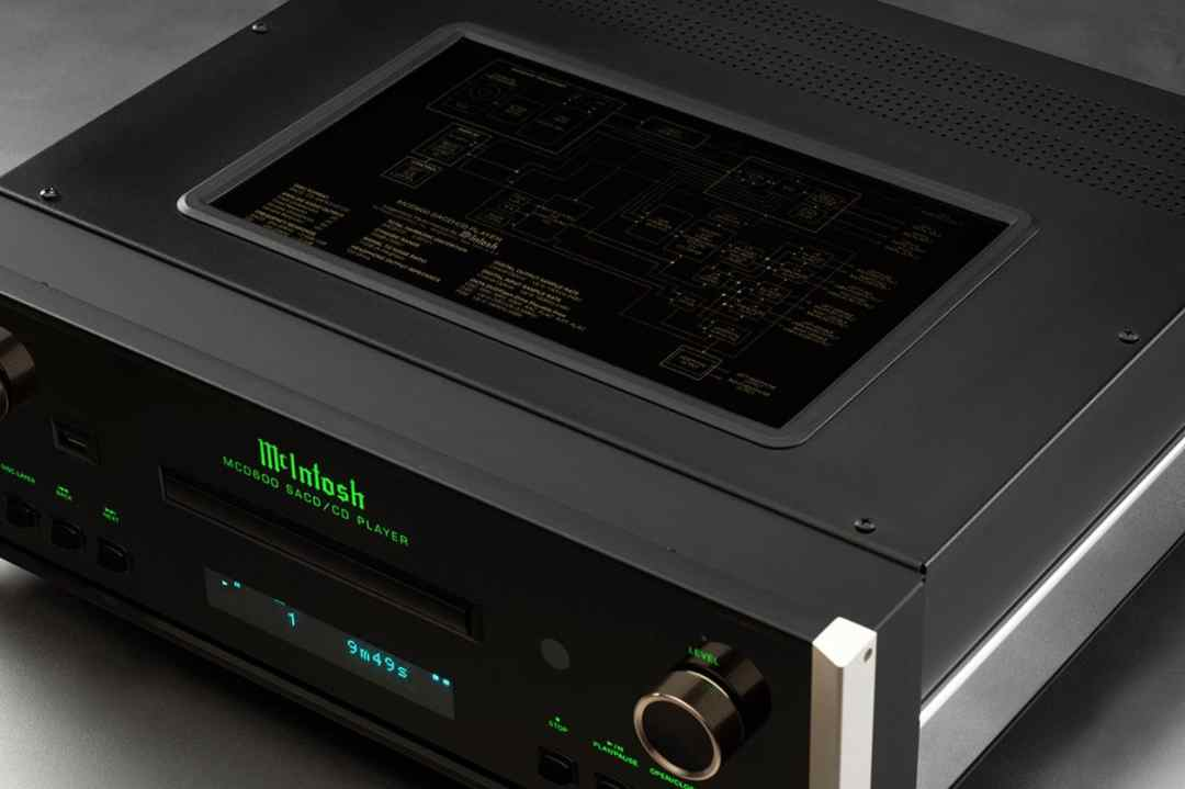 MCD600 CD Player From McIntosh