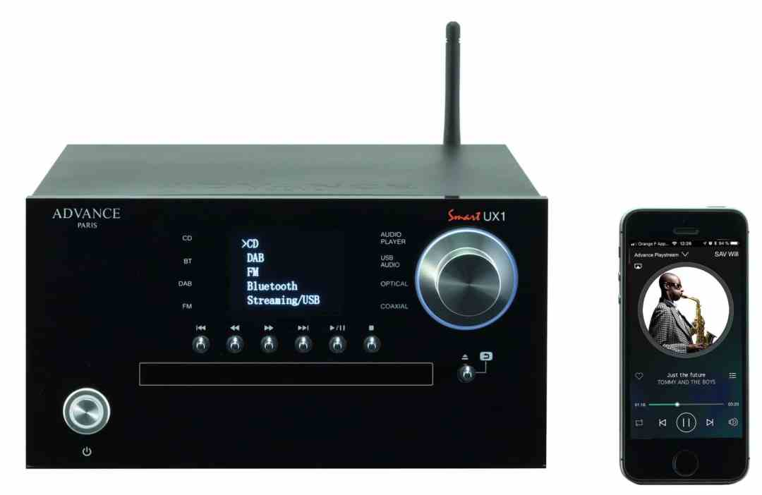 UX1 Multimedia Player From Advance