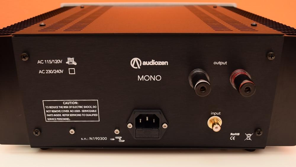 Mono monoblock power amplifier from Audiozen