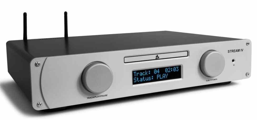 CD Player-Streamer From Leema
