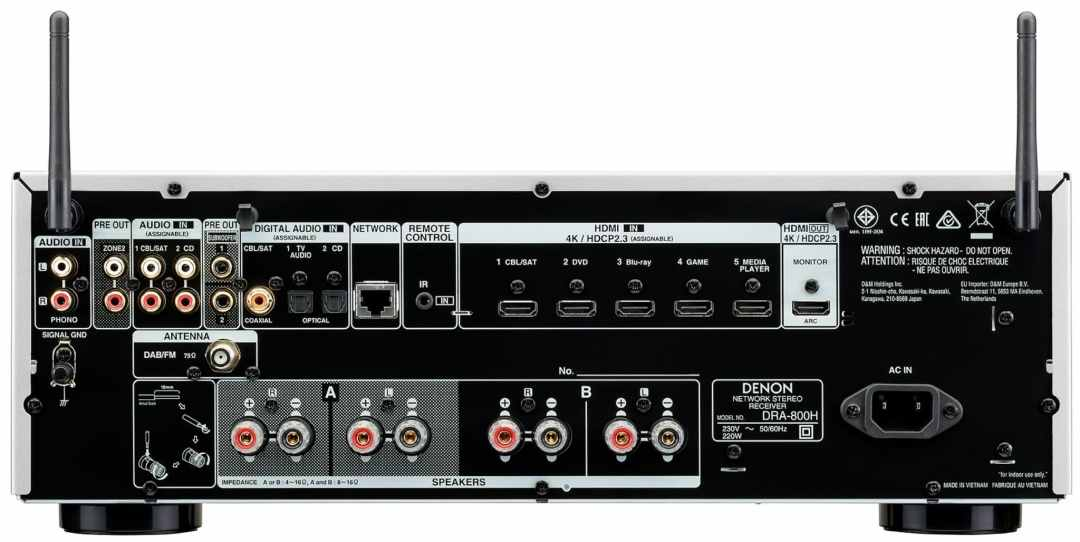 DRA-800H Network Receiver From Denon