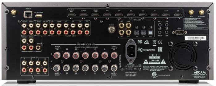 AVR and an AV processors From Arcam