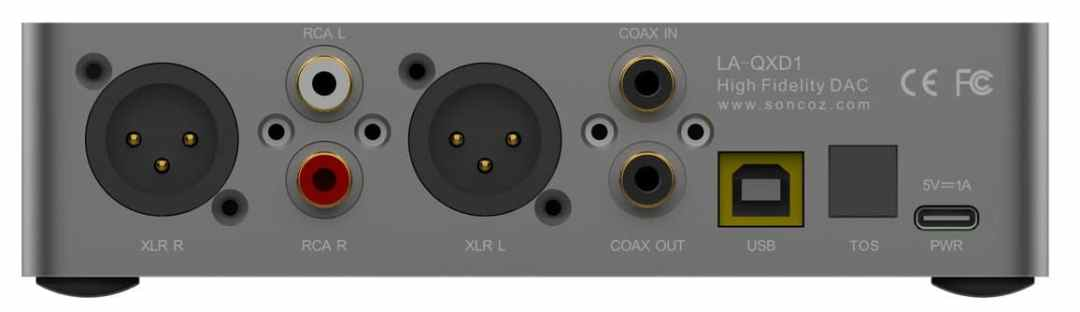 LA-QXD1 DAC From Soncoz