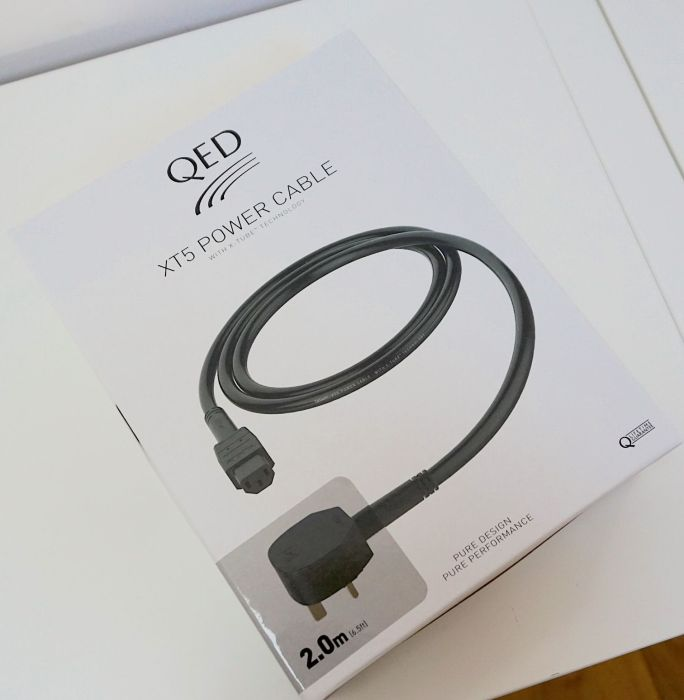 XT5 Mains Cable From QED