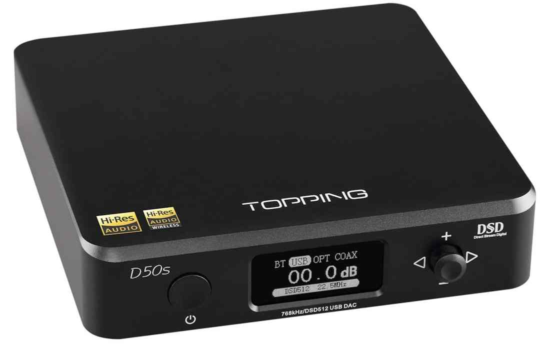 TOPPING D50S DAC ON YOUTUBE