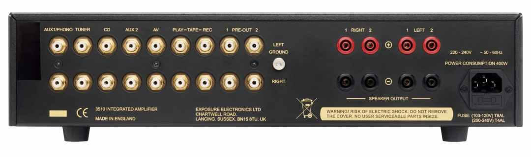 3510 integrated amplifier From Exposure