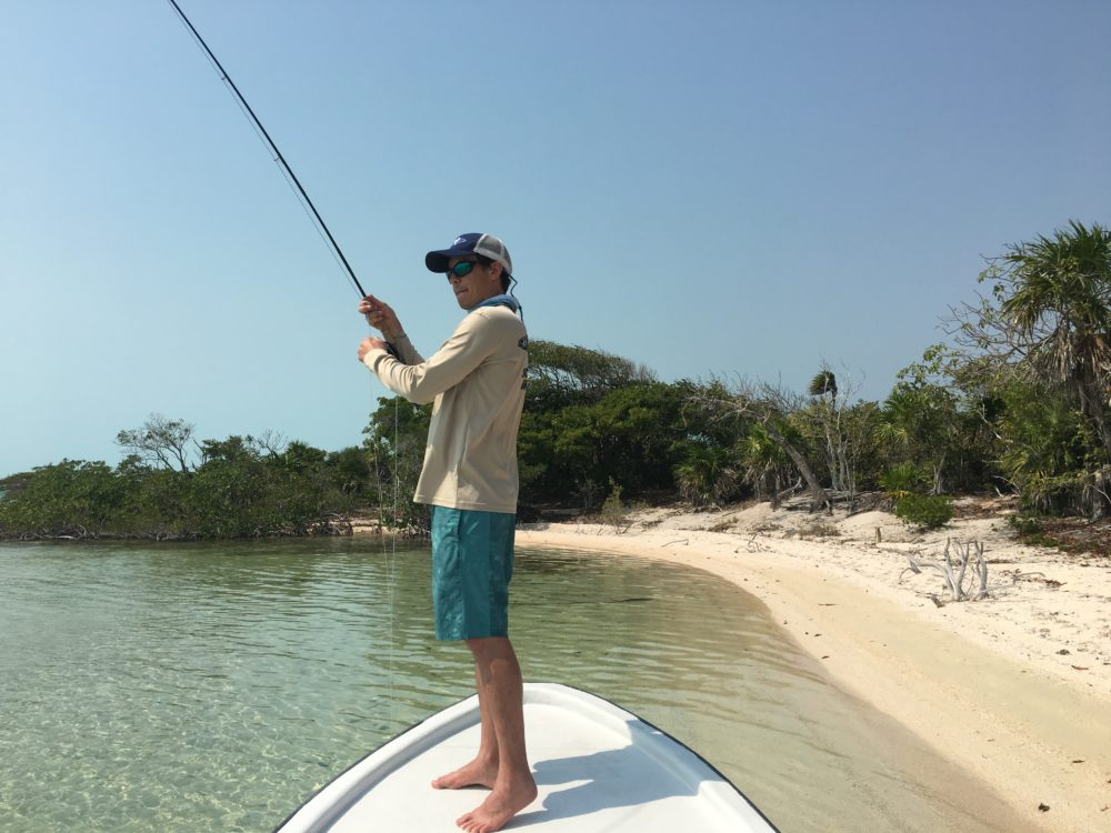 Tres Pescadores Fly Fishing Belize trip