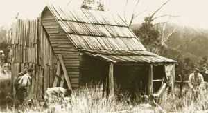 Pictured here circa 1940, Victoria's Weston's hut is a prime example of a site valued for many reasons. It has long term links with high plains cattlemen families - the Westons and Goldsworthys - who generations ago decided where it was to be built and from what. The hut has high value as a refuge given its location on a key walking route between Mt Feathertop and the Bogong High Plains. Not surprisingly, when it was burnt in the 2006-07 fires, it was rebuilt.