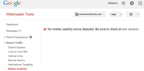 Google Tools Result TAB