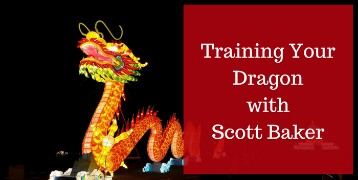 Training Your Dragon with Scott Baker Author Biz Podcast interview image