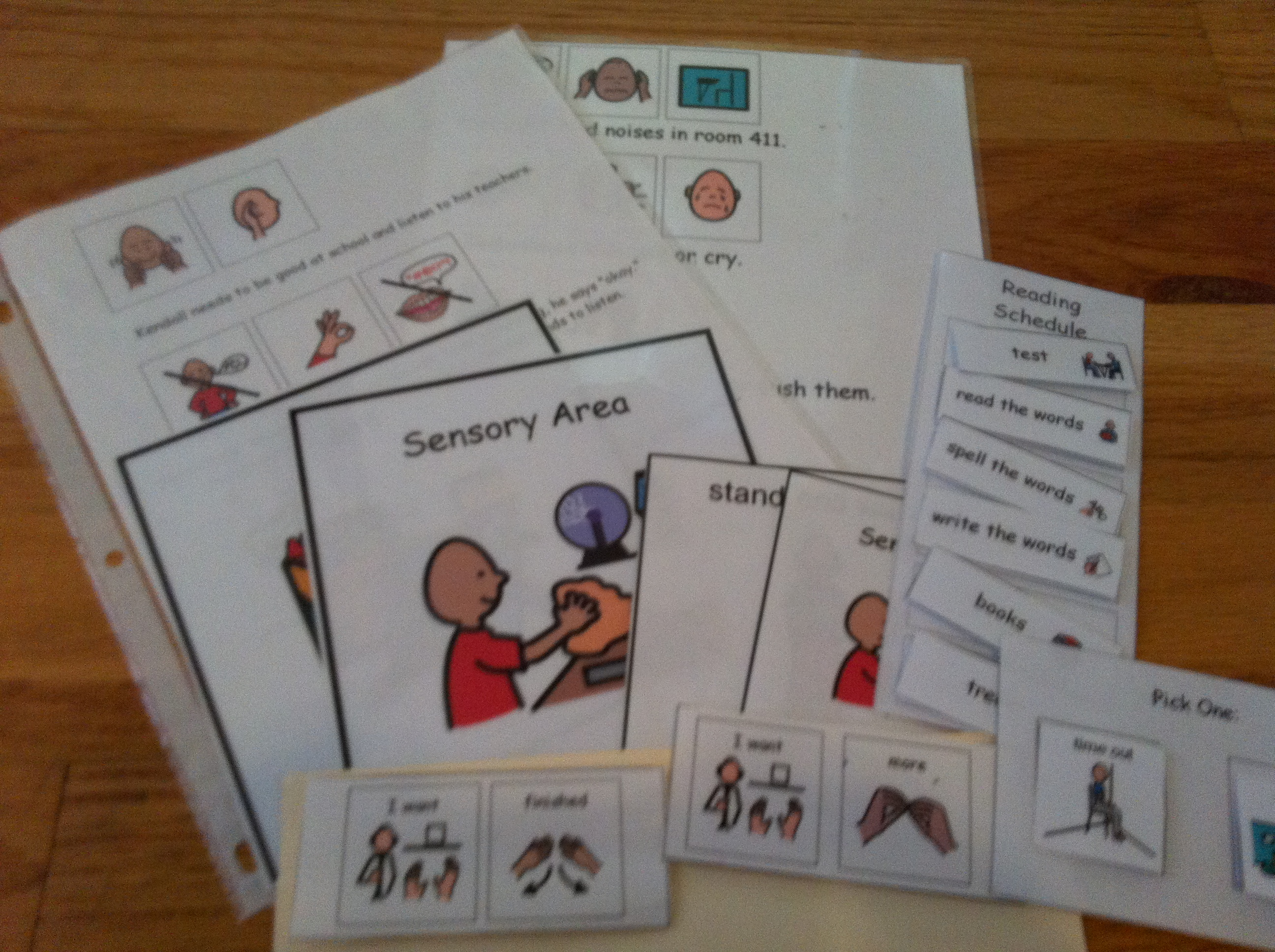 Toilet Visual Aid Resource Set Learning Support s- Autism Pre-School SEND ASD