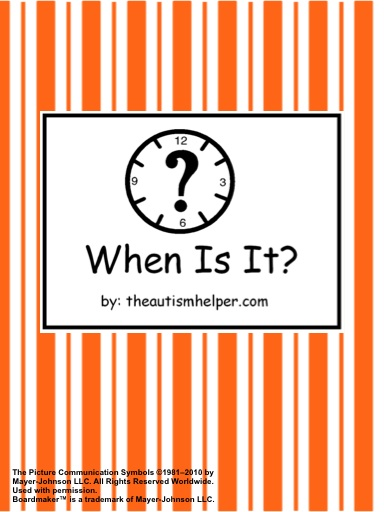 When Is It? Adapted Book