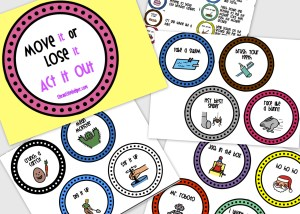 The Autism Helper - Movement Cards