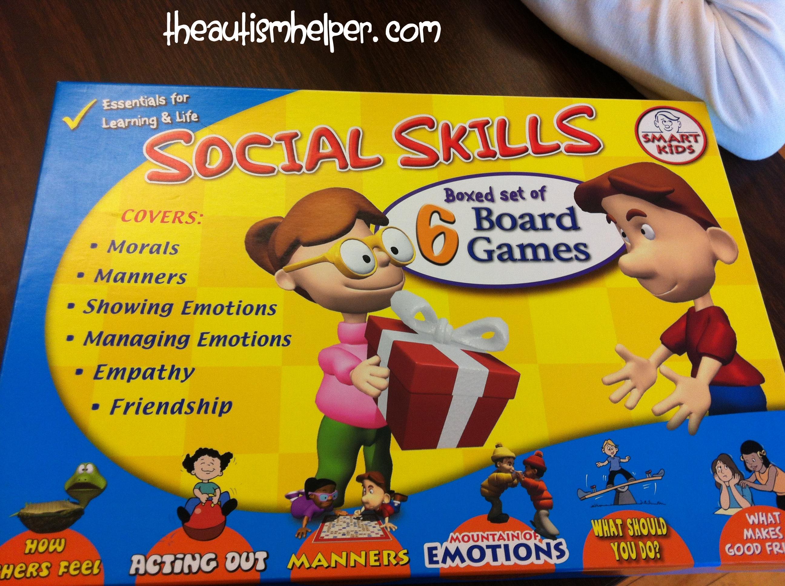 More Great Social Skill Games