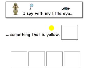 I Spy - The Autism Helper