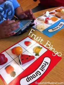 The Autism Helper - Fruit Activity