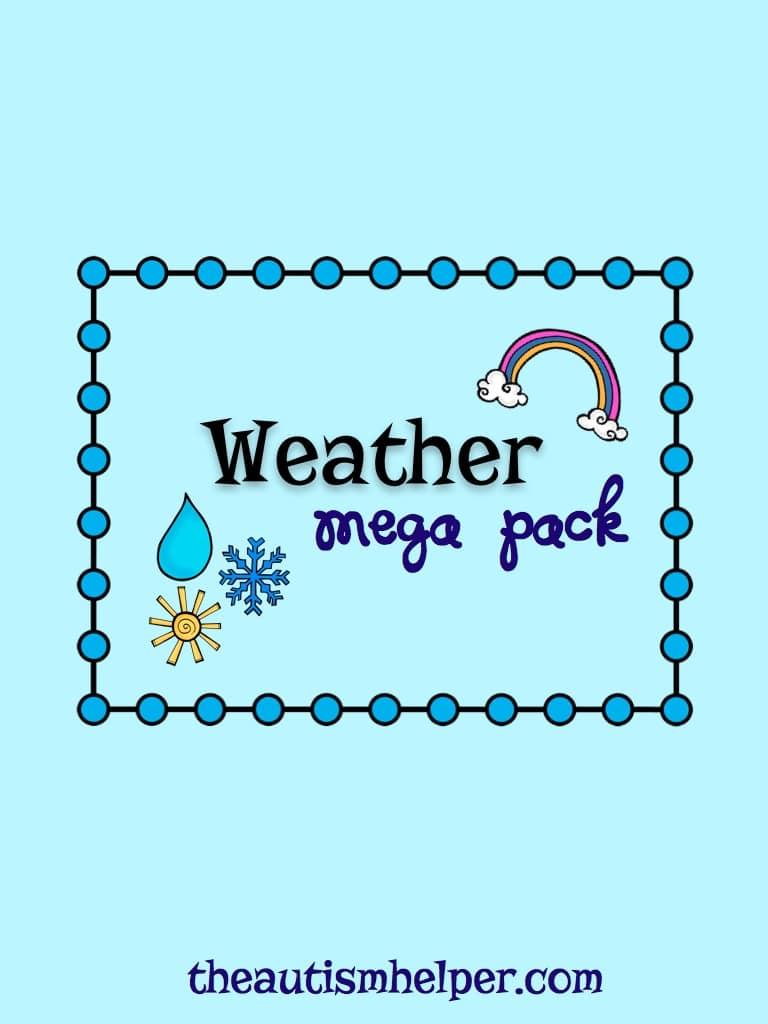 Weather Mega Pack - The Autism Helper