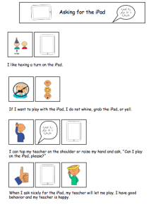 The Autism Helper - Technology Visual