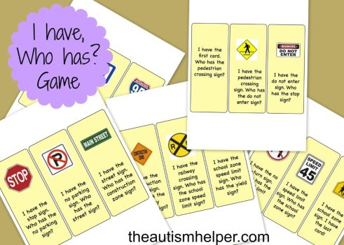 The Autism Helper - Community Signs