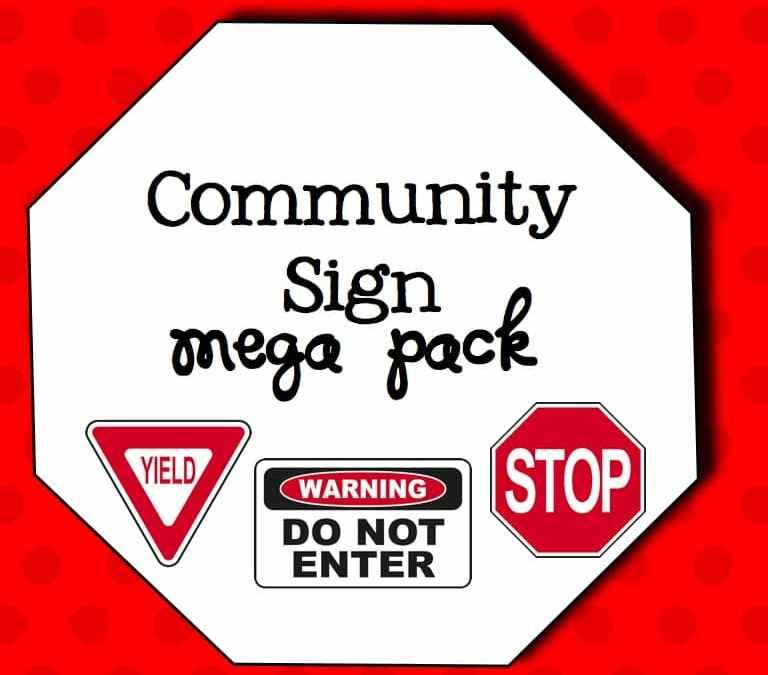Community Sign Mega Pack