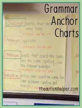 The Autism Helper - Anchor Charts