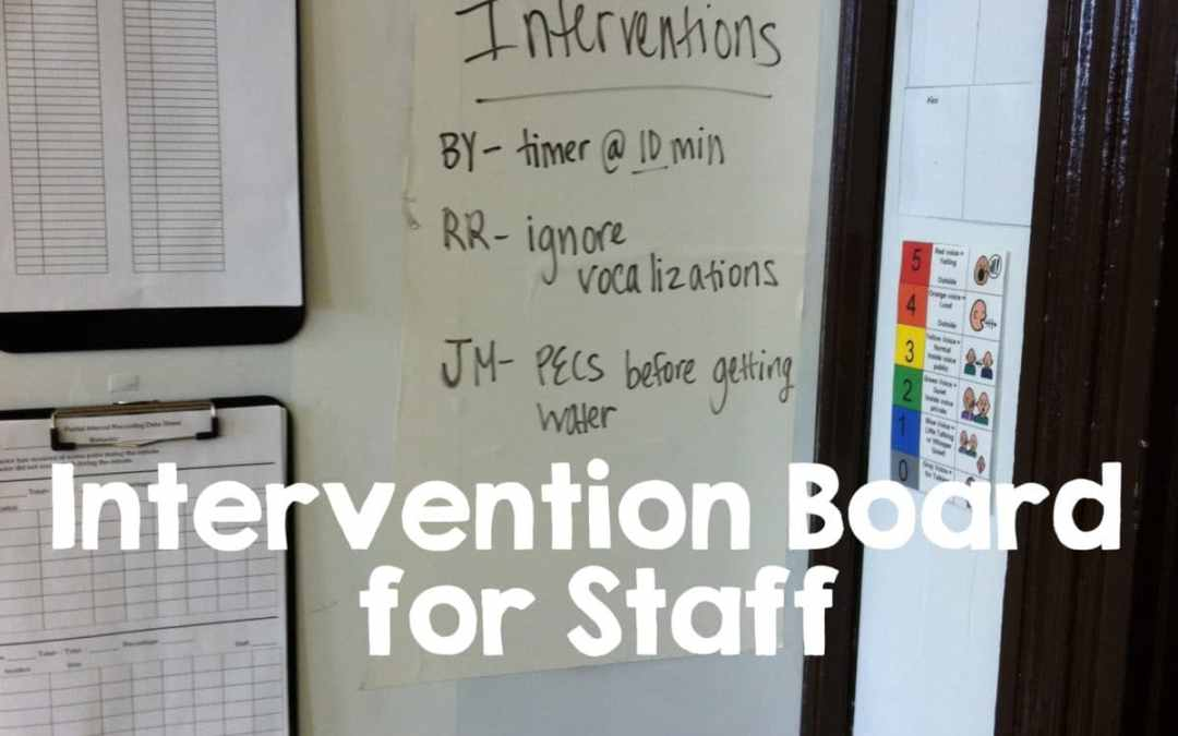 Training Staff {Sharing Information}