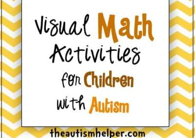 Visual Math Activities for Children with Autism
