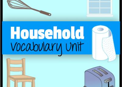 Household Vocabulary Unit
