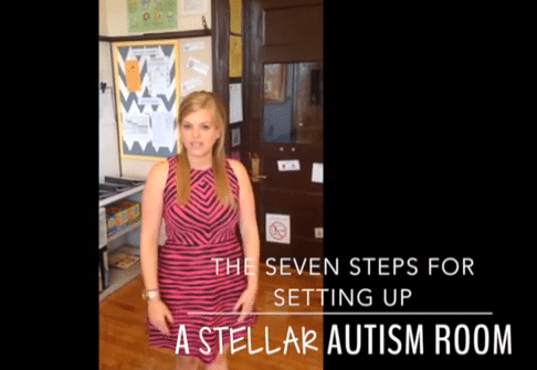 Seven Steps for Setting Up a Stellar Autism Room {Video Tutorial}