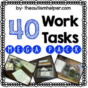 Work Tasks - The Autism Helper