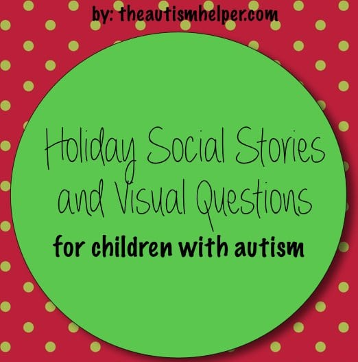 Holiday Social Stories & Visual Questions