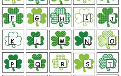 St. Patrick's Day File Folder Activities