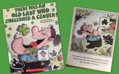 There Was An Old Lady Who Swallowed A Clover {free resource}