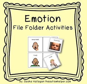 Emotion File Folder Activities