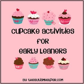Cupcake Activities for Early Learners