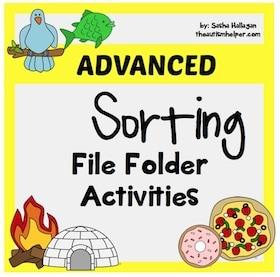 Advanced Sorting File Folders