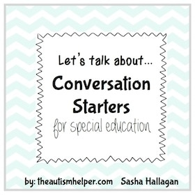 Conversation Starters for Special Education