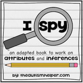 I Spy {Attribute & Inferences}