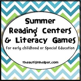 Summer Reading Centers & Literacy Games